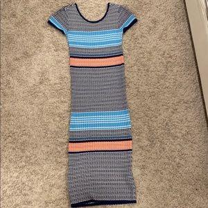 Knit Sweater Midi Dress